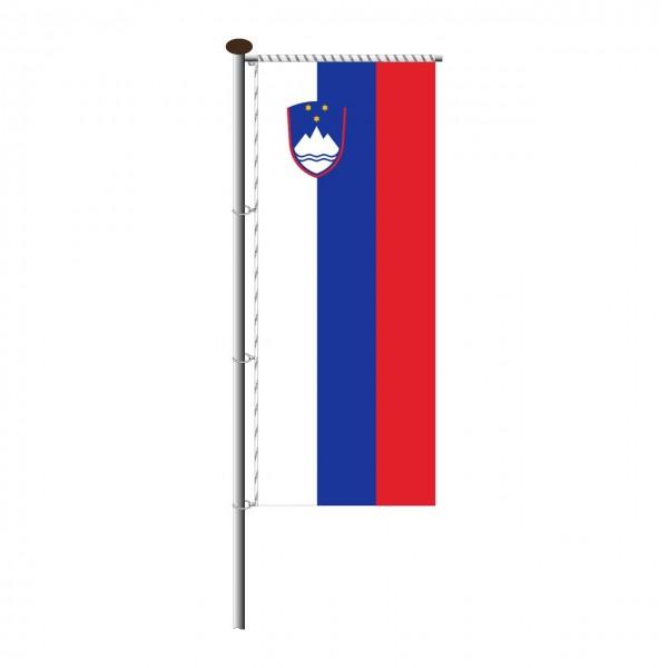 Fahne Slowenien für Auslegermast