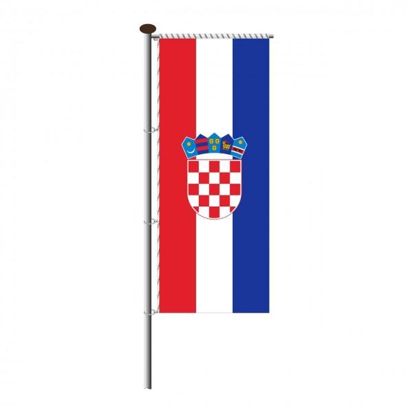 Fahne Kroatien für Auslegermast