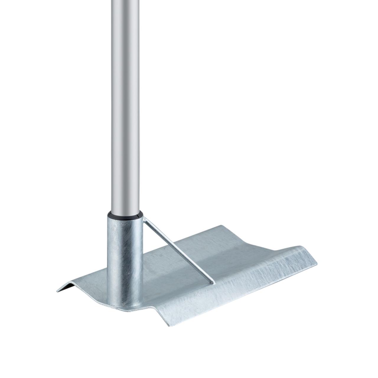 befahrbarer Bodenhalter Stahl (+84,- €)