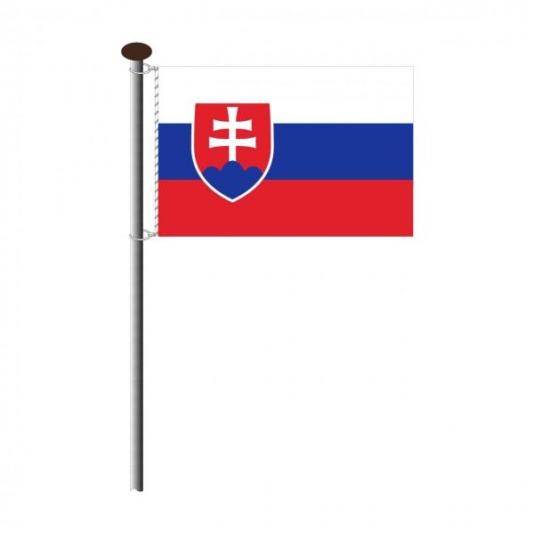 Fahne Slowakei Querformat