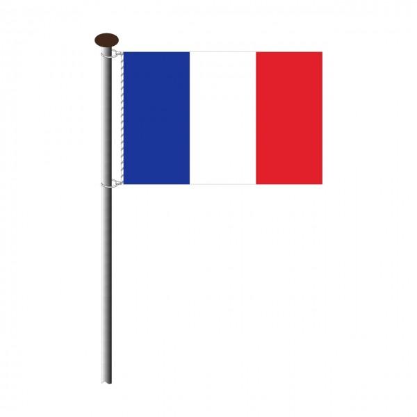 Fahne Frankreich im Querformat