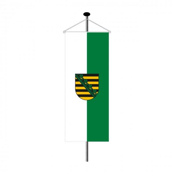 Bannerfahne Sachsen
