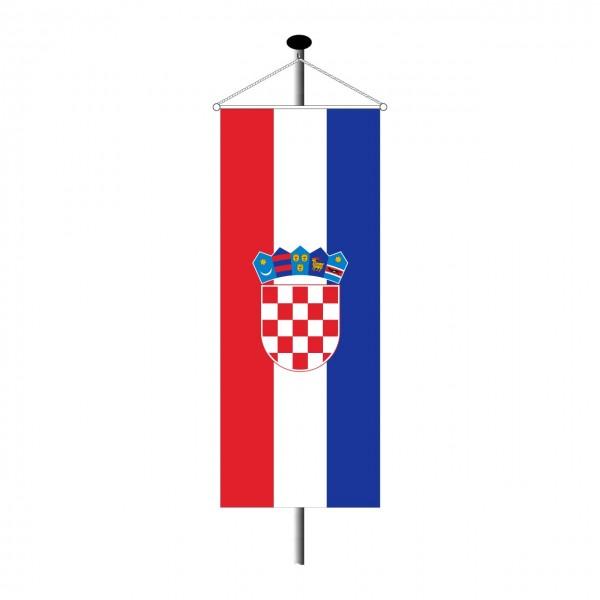 Bannerfahne Kroatien