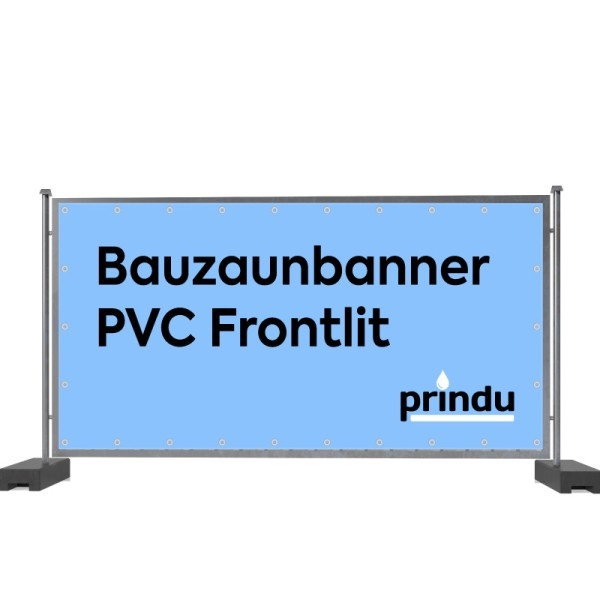 Bauzaunbanner PVC Frontlit