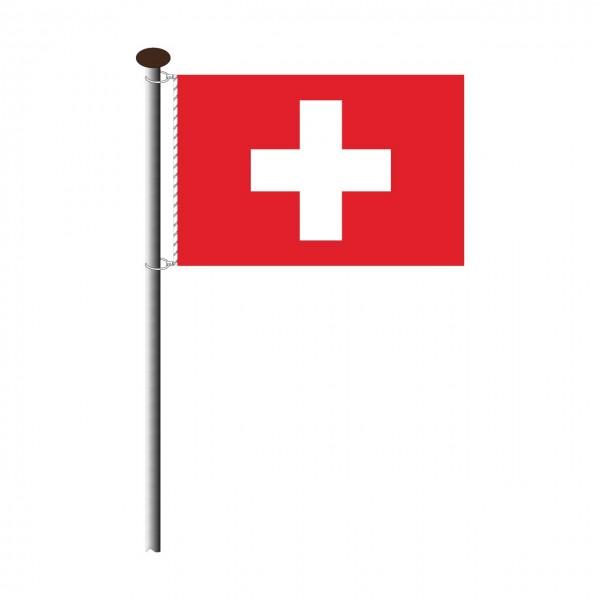 Fahne Schweiz Querformat