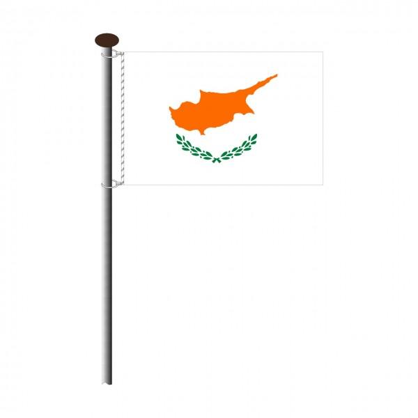 Fahne Zypern Querformat
