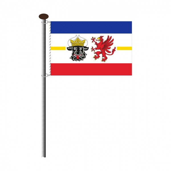 Fahne Mecklenburg Vorpommern Querformat