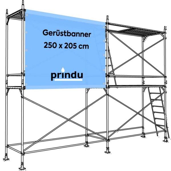 Gerüstbanner 250 x 205 cm
