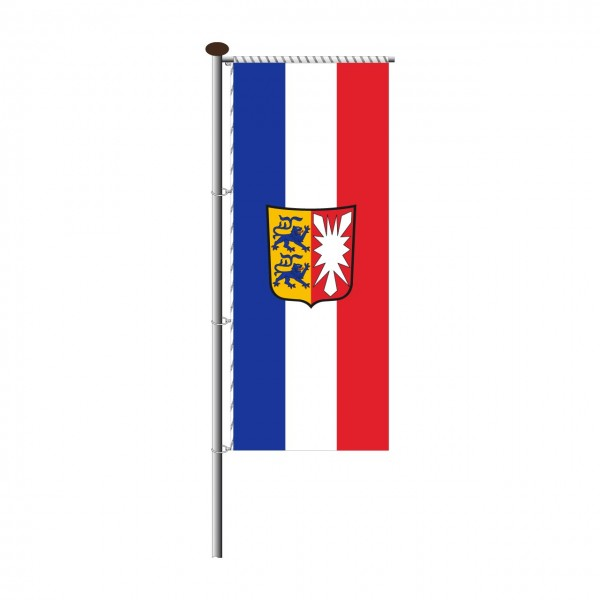 Fahne Schleswig-Holstein für Auslegermast