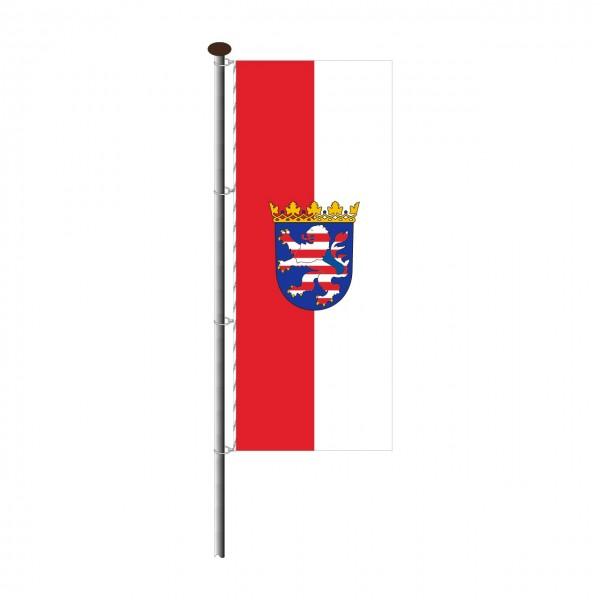 Fahne Hessen im Hochformat