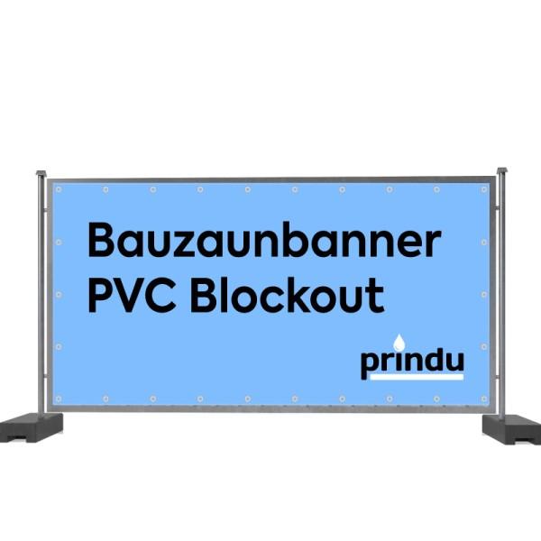 Bauzaunbanner PVC Blockout