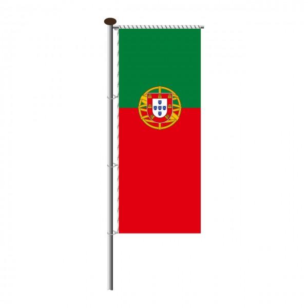 Fahne Portugal für Auslegermast